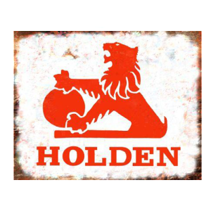 holden rustic looking tin sign mainly nostalgic retro