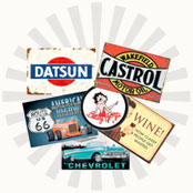 Mainly Nostalgic | Retro Tin Signs & More