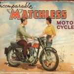 MATCHLESS MOTORCYCLE TIN SIGN