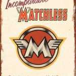 BRITISH MOTORCYCLE MATCHLESS TIN SIGN