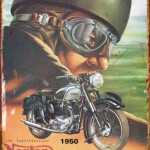 BIRTISH MADE NORTON MOTORCYCLE RETRO TIN SIGN