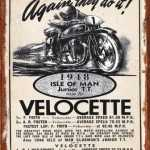 ISLE OF MAN VELOCETTE
