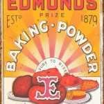 RETRO EDMONDS TIN SIGN