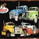 MACK TRUCKS TIN SIGN
