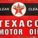 TEXACO CLEAN & CLEAR MOTOR OIL