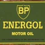 BP RETRO TIN SIGN
