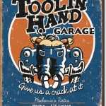 Garage tool in hand Magnet