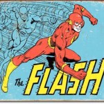Super Hero tin sign The Flash