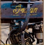 Motorcycle tin sign Indian