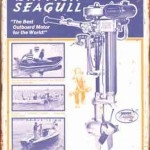 BRITISH SEAGULL OUTBOARD MOTOR TIN SIGN