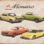 Monaro Tin Sign
