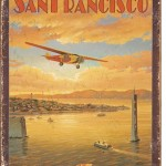 SAN FRANCISCO BAY RETRO TIN SIGN