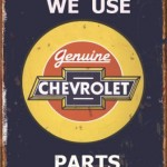 CHEVROLET RETRO TIN SIGN