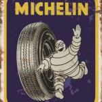 MICHELIN MAN RETRO TIN SIGN