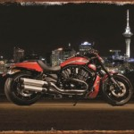 AUCKLAND SKY LINE FEATURING A HARLEY DAVIDSON MOTORCYCLE