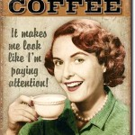 RETRO COFFEE TIN SIGN