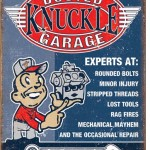 RETRO GARAGE TIN SIGN