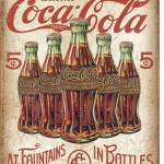 RETRO COCA COLA TIN SIGN