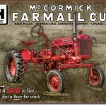 McCORMICK FARMALL CUB RETRO TRACTOR TIN SIGN