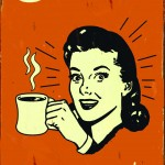 RETRO TIN SIGN COFFEE