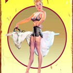 RETRO HUMOROUS TIN SIGN LAUNDRY SERVICE