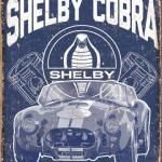 COBRA RETRO TIN SIGN