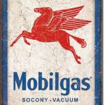 MOBIL GAS RETRO TIN SIGN