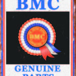 BRITISH MOTOR CORPORATION TIN SIGN
