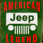 JEEP RETRO TIN SIGN