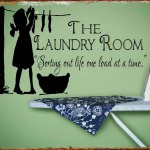 LAUNDRY ROOM RETRO TIN SIGN
