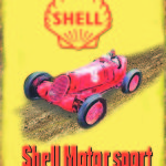 SHELL MOTORSPORT VINTAGE TIN SIGN