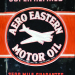 AERO EASTERN MOTOR OIL TIN SIGN