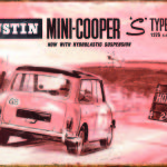MINI COOPER S TIN SIGN