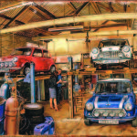 MINI GARAGE RETRO TIN SIGN