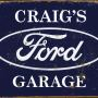 Personalised Ford Sign