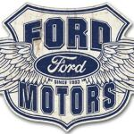 PRESSED FORD TIN SIGN