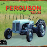 TRACTOR TIN SIGN FERGUSON