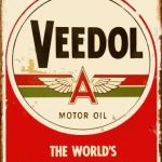 VEEDOL MOTOR OIL RETRO TIN SIGN