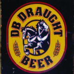BEER TIN SIGN DB DRAUGHT