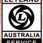 LEYLAND AUSTRALIA TIN SIGN