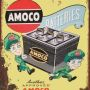 RETRO TIN SIGN AMOCO BATTERIES