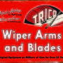 RETRO TIN SIGN WIPER BLADES
