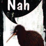 SMALL RETRO TIN SIGN NZ SAYING YEAH NAH