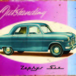 ZEPHYR MK 1 TIN SIGN