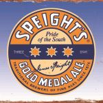 SPEIGHTS BEER TIN SIGN