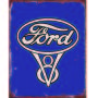 Ford tin sign