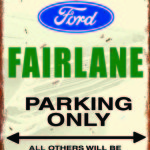 FAIRLANE PARKING ONLY. OTHERS WILL BE TOWED.