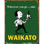 WAIKATO BEER WILLIE THE WAITER